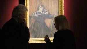 La direttrice del museo Toulouse Lautrec di Albi Danielle Devynck