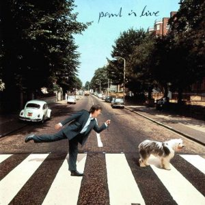 Paul is Live - cover