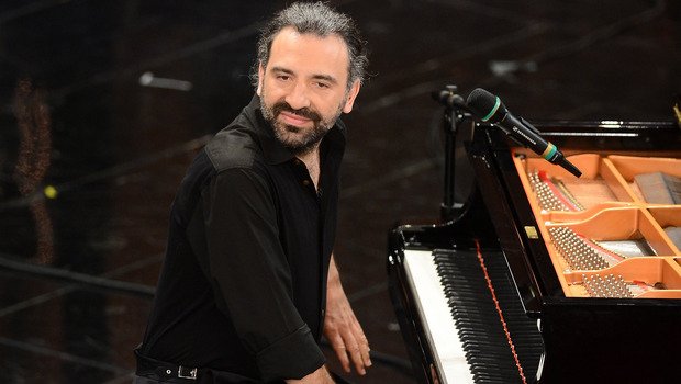 SANREMO, ITALY - FEBRUARY 15:  Stefano Bollani attend the fourth night of the 63rd Sanremo Song Festival at the Ariston Theatre on February 15, 2013 in Sanremo, Italy.  (Photo by Daniele Venturelli/Getty Images)