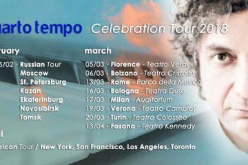 Roberto Cacciapaglia Celebration Tour 2018