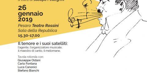 WKO - Manifesto IL TENORE Tavola Rotonda