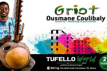 OUSMANE COULIBALY AL TUFELLO FESTIVAL