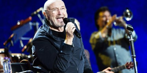 Mandatory Credit: Photo by Richard Isaac/REX/Shutterstock (8886469am) Phil Collins performing British Summer Time Festival, Hyde Park, London, UK - 30 Jun 2017
