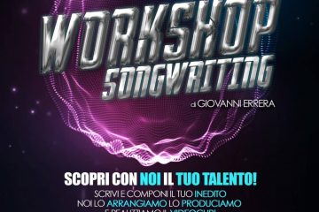 locandina workshop di songwriting