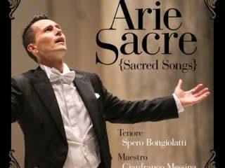 ARIE SACRE - Tenore Spero Bongiolatti