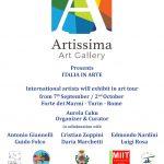 Locandina internazionale ITALIA IN ARTE