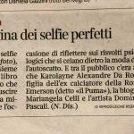 Elenia Scarsella Non solo Selfie Corriere della Sera
