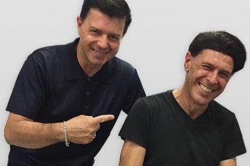 2018 Oscar Giammarinaro con Ezio Bosso