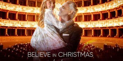 Andrea Bocelli - believe nuovo album cover