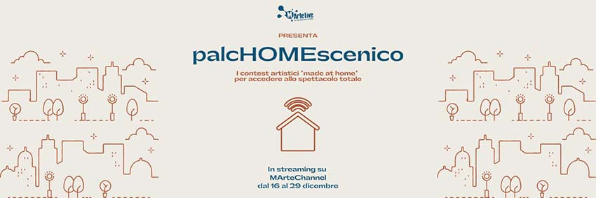 palcHOMEscenico 40 eventi made at home