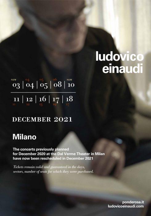 Ludovico Einaudi le date dei concerti al Teatro Dal Verme